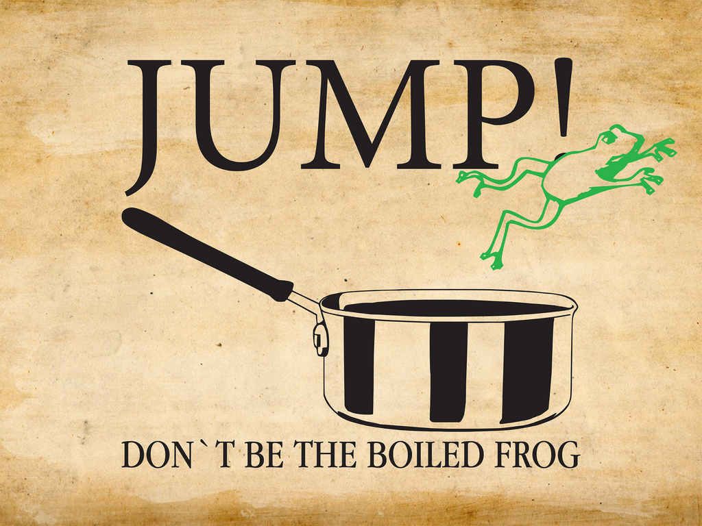 Don´t be the boiled frog – my talk at TEDxBerlin